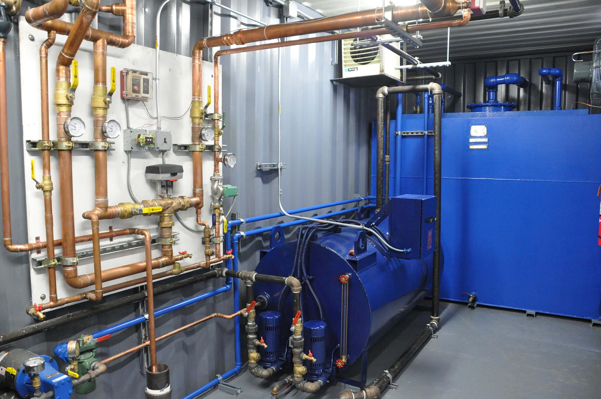 Mobile Steam Boiler